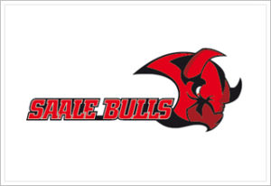 Logo der Saale Bulls - Mitteldeutscher Eishockeyclub