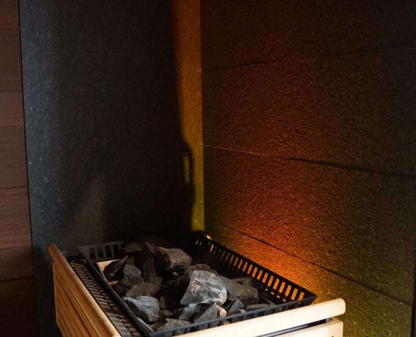 Unsere finnische Saune im Sportpark Halle